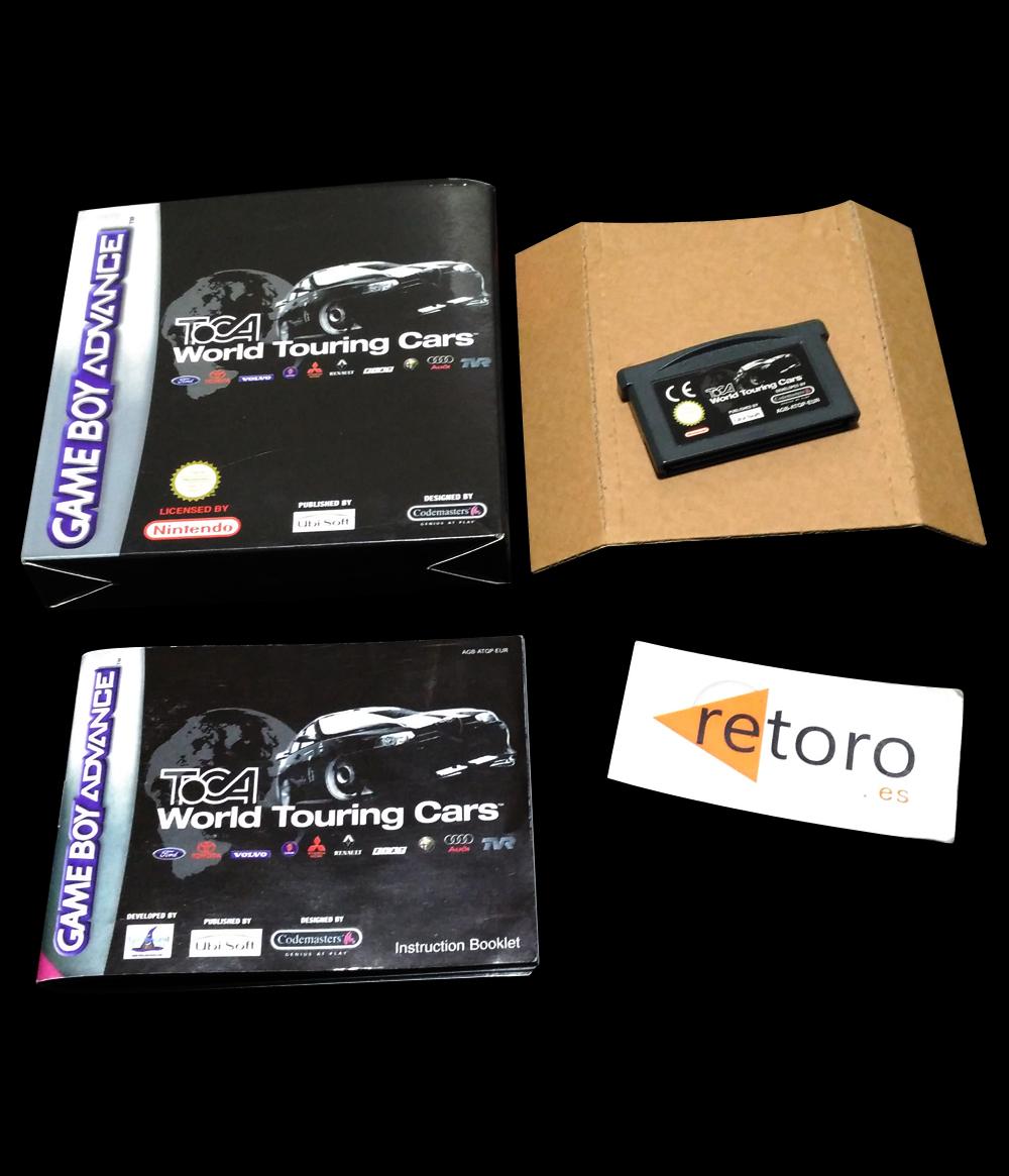 TOCA WORLD TOURING CARS Pal-España Nintendo GBA Game Boy